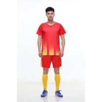 励扬 成人足球服 XL号套装 RY-583253 XL 100%聚酯 (中国红/荧光黄/宝石蓝/荧光橙)