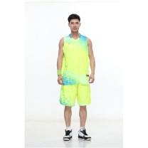 励扬 篮球服 XL号套装 RY-283128 XL 100%聚酯 (雪花白/中国红/荧光黄/鲜艳蓝/藏青蓝)