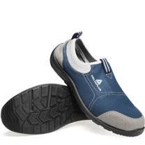 代尔塔 DEITAPLUS 松紧系列安全鞋 301216 39码  1双/盒 (防砸防静电防油)