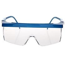 3M 防护眼镜 1711AF  (蓝色镜架,透明镜片 防紫外线)