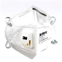 3M 自吸过滤式防颗粒物呼吸器 9001V  25个/盒 (耳戴式口罩)