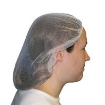 爱马斯 AMMEX 一次性无纺布条形帽 40048W-19 19寸 (白色) 100个/袋