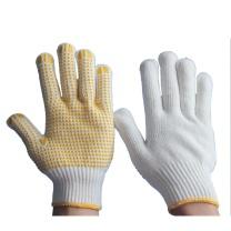 海太尔 海太尔 PVC点塑手套 0003  (均码 手背为全棉纱线 手掌为黄色点珠)