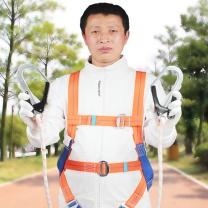 巨环 安全带含双绳双大钩带缓冲包身体防护 JHQY-002