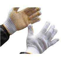国产 点塑本白纱手套 600g/打  12副/打 (新老包装交替以实物为准)