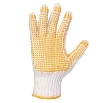国产 点塑本白纱手套 650g/副  12副/打 (新老包装交替以实物为准)