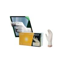 爱马斯 AMMEX 一次性使用医用橡胶检查手套 TLFCMD46100 L号  100只/盒 (无粉)