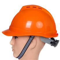 梅思安 MSA 豪华型安全帽 10172478 (橙色) (顶部带透气孔)
