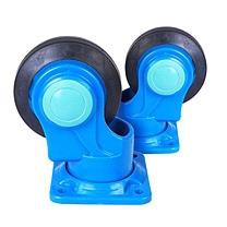 连和 万向轮  (尼龙支架天然橡胶轮 超静) (YCX)
