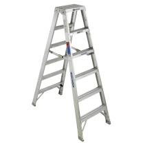 稳耐 铝合金双侧人字梯1.8米 T376CN 1830*630*230 (银色) 1台/装 T376CN 1830*630*230 (银色) 1台/装