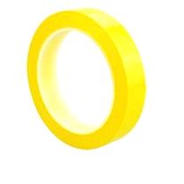 国产 5S桌面定位标识胶带 0.5cm*66M (黄)