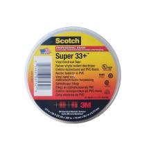3M 绝缘胶布黑PVC电工胶带 Scotch Super 33+ (黑色)