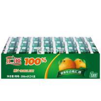 汇源 100%橙汁 200ml/盒  24盒/箱