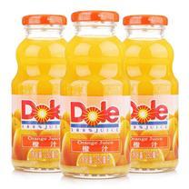 都乐 Dole 100%橙汁 250ml/瓶 24瓶/箱