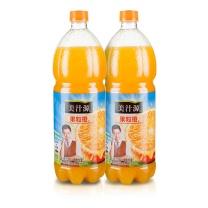 可口可乐 Coca'Cola 美汁源 果粒橙 1.25L/瓶  12瓶/箱 (大包装)