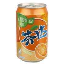 可口可乐 Coca'Cola 芬达 碳酸饮料 330ml/罐 24罐/箱 (橙味)