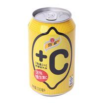 可口可乐 Coca'Cola 怡泉 +C汽水 330ml/罐  24罐/箱 (柠檬味)(大包装)