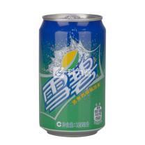 雪碧 Sprite 碳酸饮料 330ml/罐 (24罐/箱) (大包装)