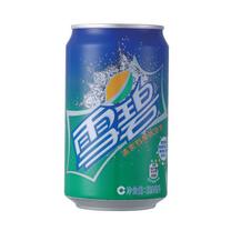 雪碧 Sprite 碳酸饮料 330ml/罐 (24罐/箱)