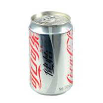 可口可乐 Coca'Cola 健怡 330ml/罐 24罐/箱