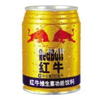 红牛 RedBull 维生素功能饮料 250ml/罐  24罐/箱 (大包装)