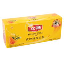 立顿 Lipton 黄牌精选红茶 2g/包 25包/盒