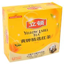 立顿 Lipton 黄牌精选红茶 2g/包  100包/盒 12盒/箱