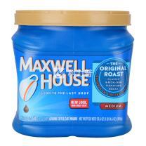 麦斯威尔 Maxwell House 进口咖啡粉 869g/罐  6罐/箱