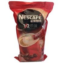 雀巢 Nestle 1+2速溶咖啡 15g/条  100条/袋 6袋/箱 (原味6袋/箱)
