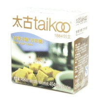 太古 taikoo 甘香方糖 454g/盒 24盒/箱 (黄色) (100粒)