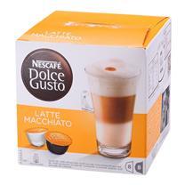 雀巢 Nestle 胶囊咖啡机胶囊 16粒/盒 (拿铁玛奇朵咖啡)(适用机型 德龙EDG626、EDG606、EDG456)