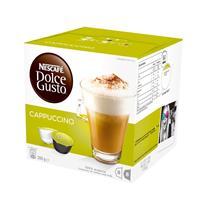 雀巢 Nestle 胶囊咖啡机胶囊 16粒/盒 (卡布奇诺)(适用机型 德龙EDG626、EDG606、EDG456)