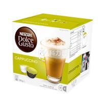 雀巢 Nestle 胶囊咖啡机胶囊  16粒/盒 (卡布奇诺)(适用机型 德龙EDG626、EDG606、EDG456 3盒/箱)