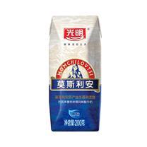 光明 莫斯利安 巴氏杀菌酸牛奶 200g/瓶 12瓶/箱 (钻石包)