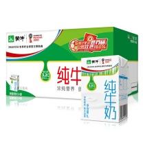 蒙牛 mengniu 纯牛奶 利乐包 1000ml/盒 6盒/箱