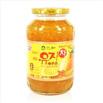 三和 蜂蜜柚子果肉饮料 1000g/瓶