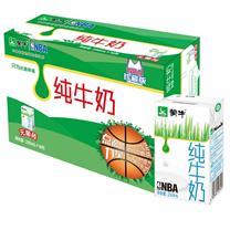 蒙牛 mengniu 纯牛奶 250ml/盒 16盒/箱
