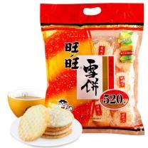 旺旺 WantWant 雪饼 520g/袋  6袋/箱