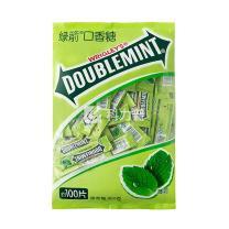 绿箭 DOUBLEMINT 口香糖 300g/袋  16袋/箱