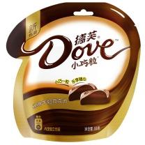 德芙 巧克力 84g 丝滑牛奶 袋装