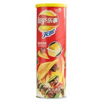乐事 无限薯片 104g/罐  24罐/箱 (嗞嗞烤肉味)