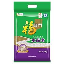 中粮 福临门 东北大米 水晶米 5kg