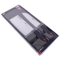 双立人 Zwilling TWINPoint中片刀+多用刀礼盒 ZW-K12 32332-002