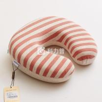 博洋 BOYONG 彩棉护颈U型枕 BYZX803-2 30*30*8cm