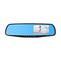 e车坊 高清4.3单镜头后视镜行车记录仪 960B