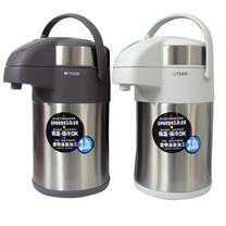 虎牌 不锈钢内胆气压式保温瓶 MAA-A30C 3L (白色)