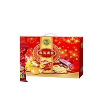 大都金玉满堂-A 礼盒装( 法国布凯卡瓦桃红葡萄酒750ml*1+精品上茶125g*1 +白咖啡400g*1)