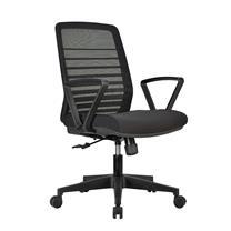 恩荣 b-chair 主管中背网椅 JG1002233GDM6 W560xD580xH940-1030mm
