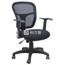 顺华 职员椅网椅 SH-1011 W585*D500*H925-985mm (黑色)