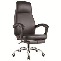 顺华 主管西皮椅 SH17-202 W600*D600*H1100-1200 (黑色)